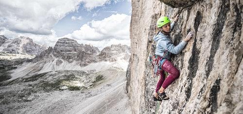 Salewa Athletin Eline Le Menstrel, in den Dolomiten