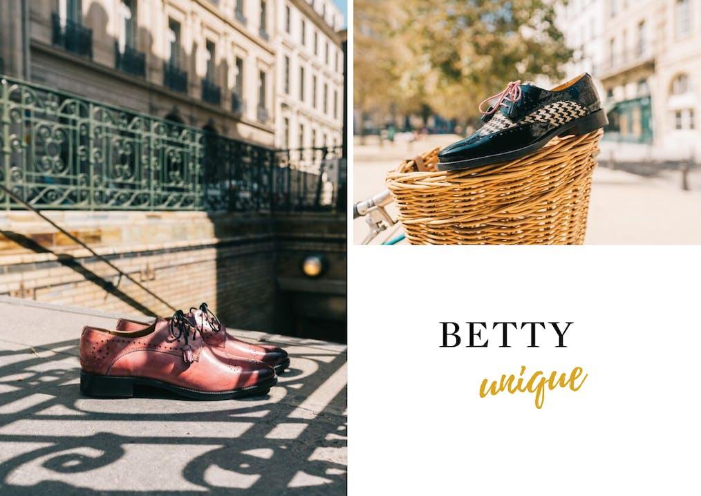 Famille de chaussures Betty Melvin & Hamilton