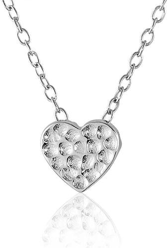 Ce Collier CLEOR est en Argent 925/1000 en forme de Cœur