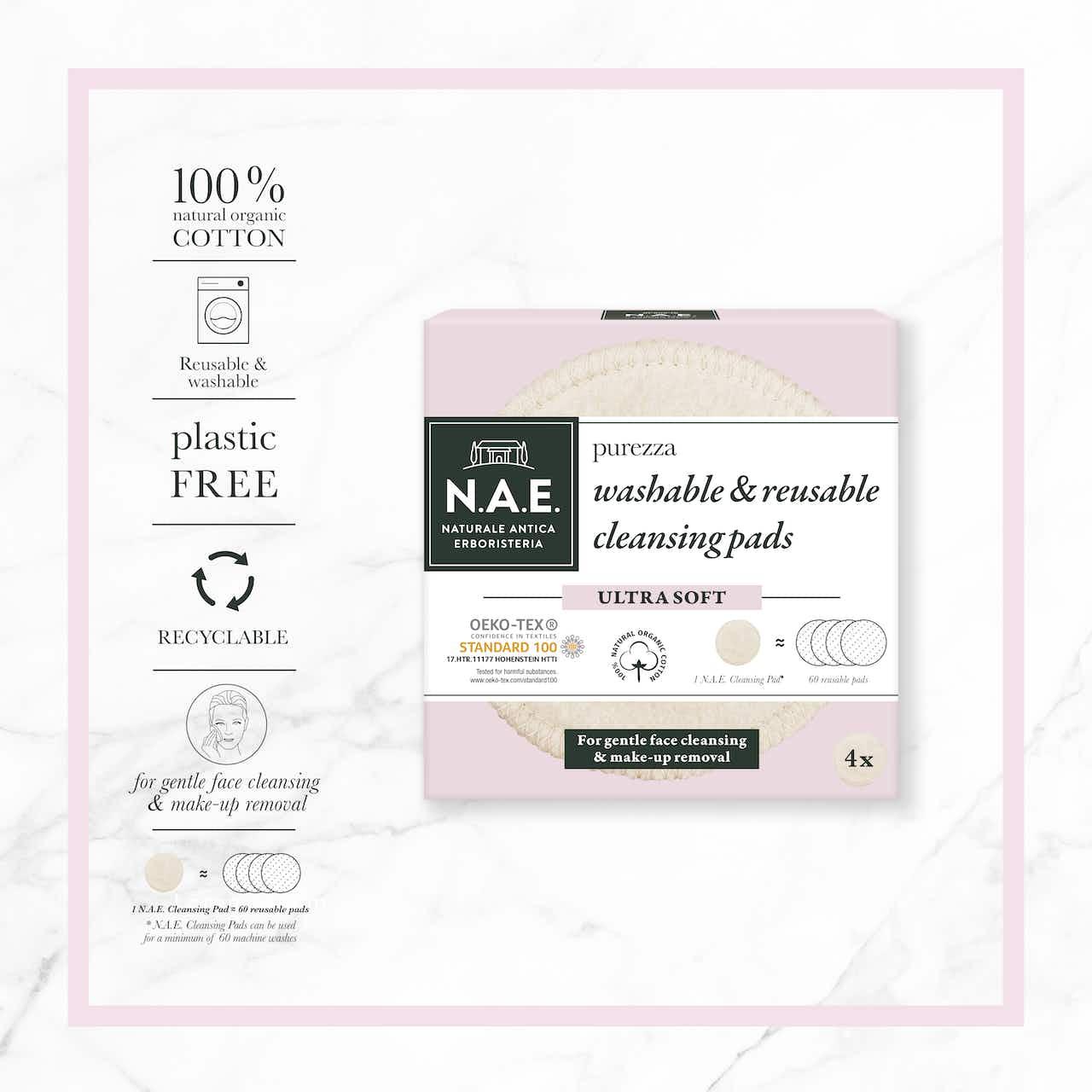 Disques Lavables et Réutilisables | washable cleansing pads