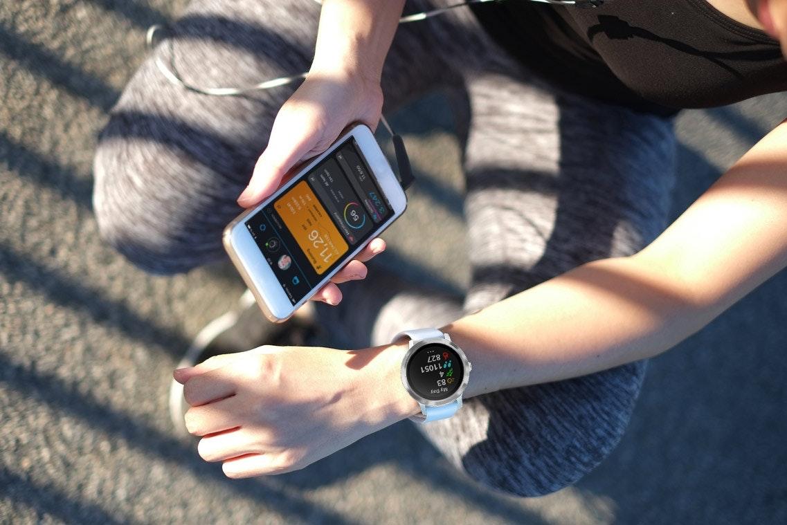 Aktivitäten auf dem Smartphone analysieren mit der Garmin Vivoactive 3