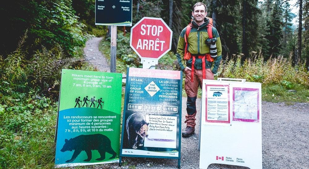 Glacier National Park Kanada