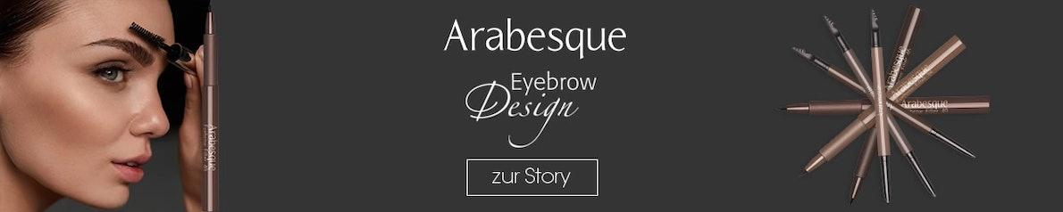 Perfekte Augenbrauen - mit ARABESQUE Eyebrow Produkten