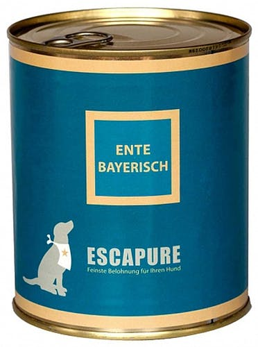 Escapure Nassfutter Ente Bayerisch (getreidefrei)