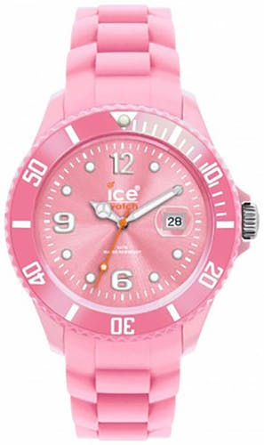 Montre ICE WATCH Small, Boîtier Rond et Bracelet Silicone Rose