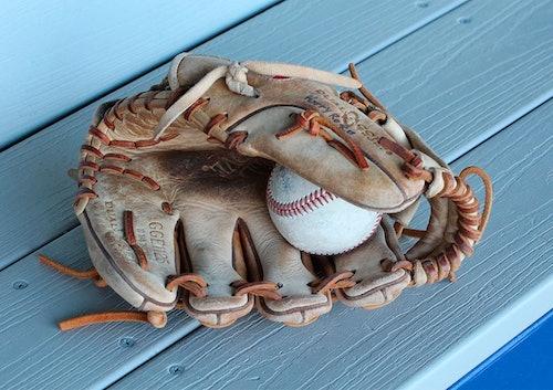 Baseball-Handschuh