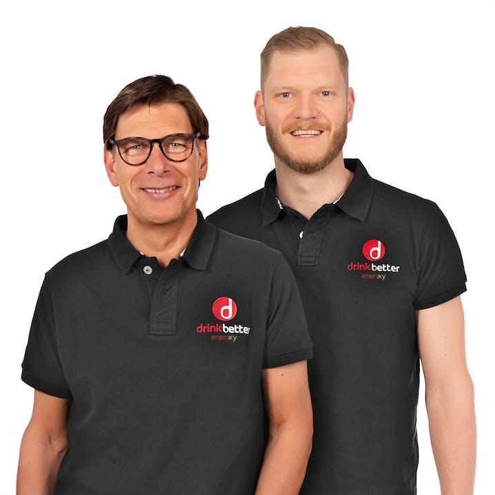 Johannes Bitter und Christian Monzel haben zusammen das Unternehmen »Drinkbetter« gegründet.