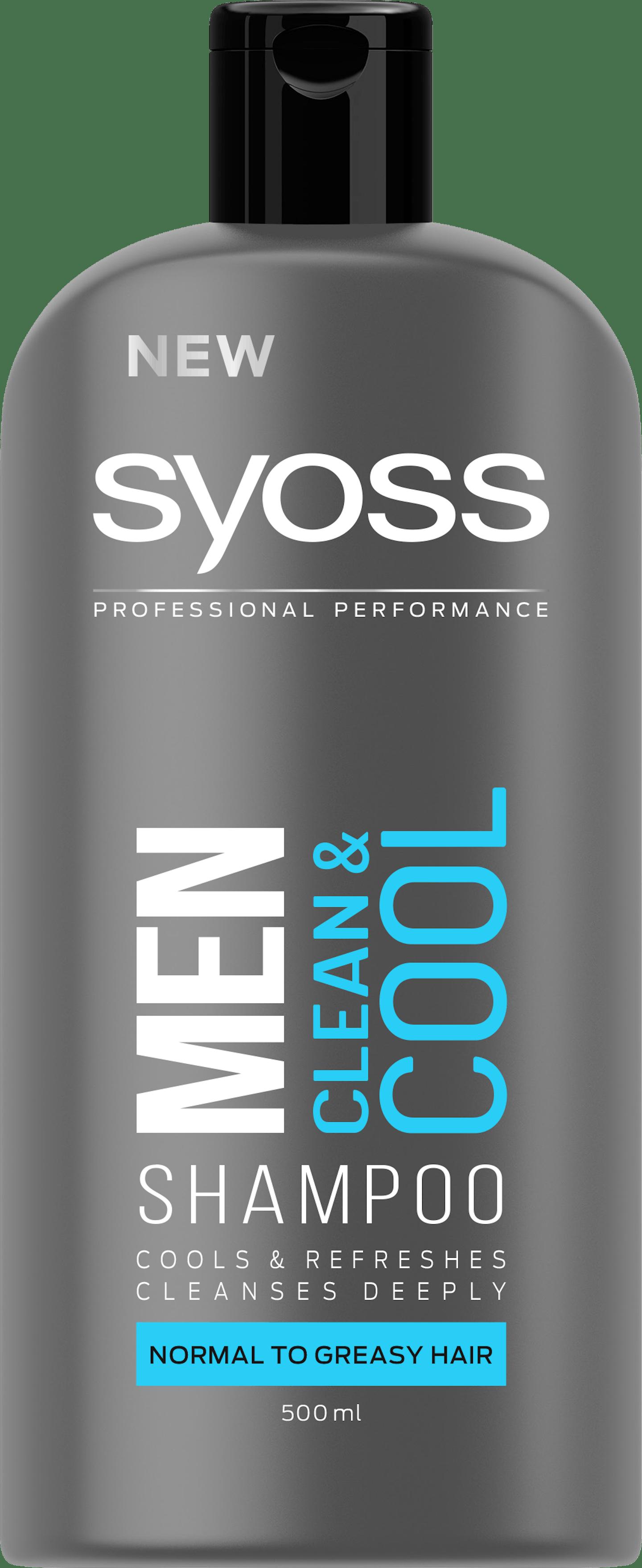 Syoss Men Clean & Cool Shampoo