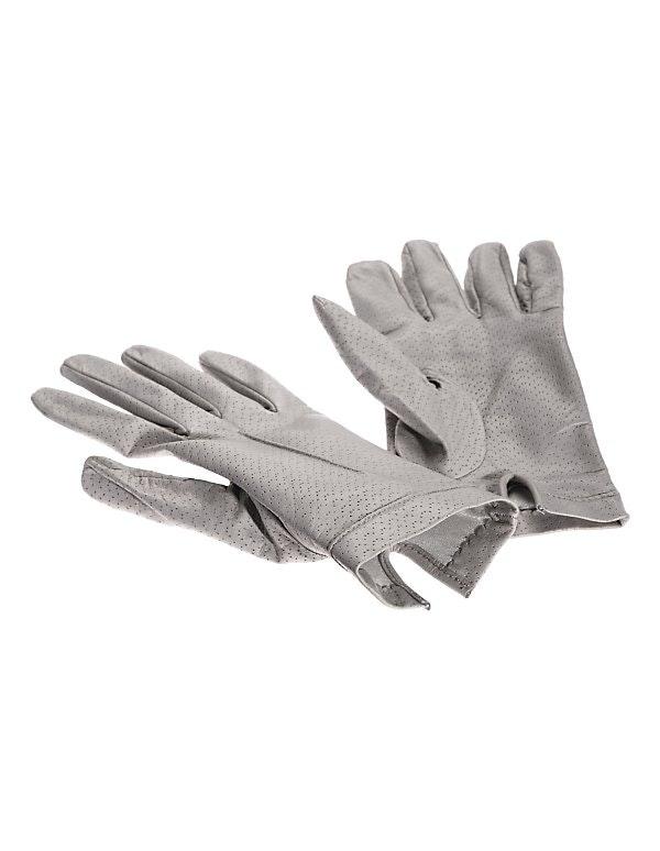 Leder-Handschuhe mit Seidenfutter