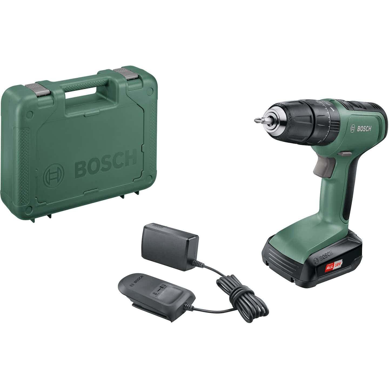 Bosch Akumulátorový dvojrýchlostný príklepový vŕtací skrutkovač UniversalImpact