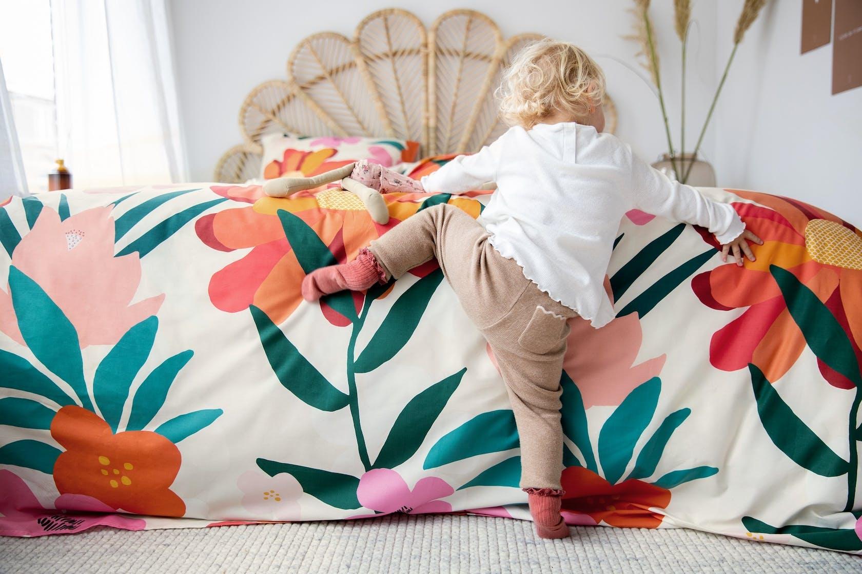 Covers & Co No Wallflower Dekbedovertrek Multi
