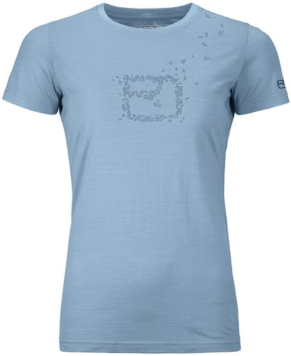 Ortovox 150 Cool Leaves - t-shirt - donna