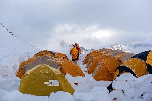 Biwak Camp Stubaier Gletscher