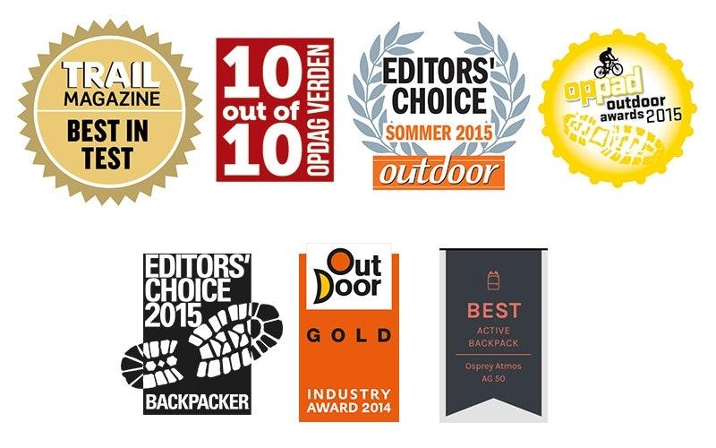 Was gut ist kann´s auch zeigen: Awards über Awards!