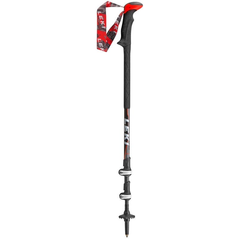 Der Robuste: Leki Sherpa XL mit Spannverschluss und 18mm Oberteil.