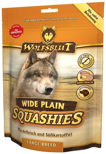Wolfsblut Softsnacks Squashies Wide Plain Large Breed