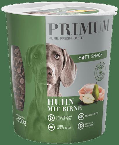 Primum - Hundesnack - Soft Snack Huhn mit Birne 200g (getreidefrei)