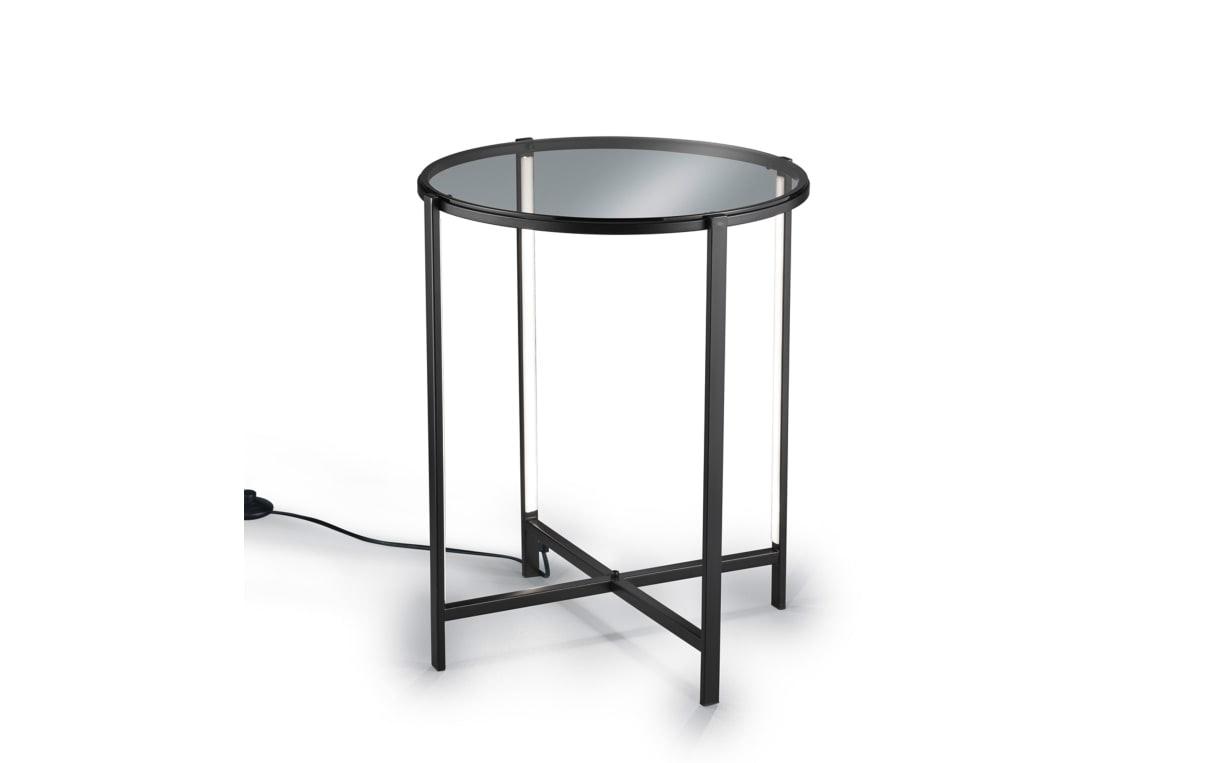 Tisch mit LED-Beleuchtung