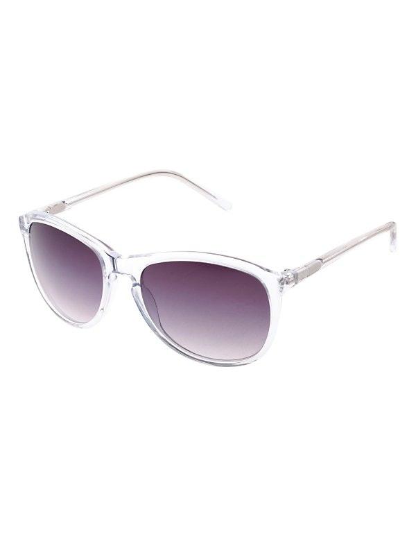 Damen Sonnenbrille mit Kunststoffrahmen