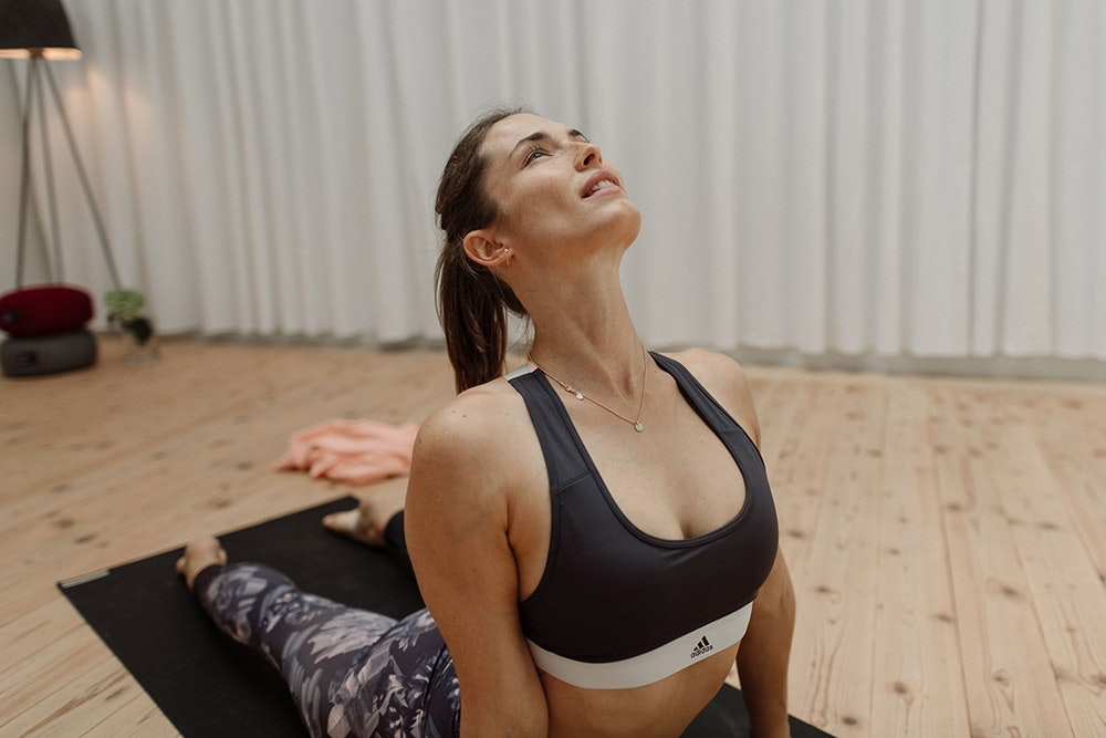 Yoga fürs Immunsystem: heraufschauender Hund