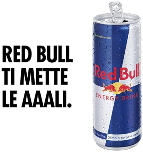 RED BULL Energy Drink 6 x 250 ml - Bevanda