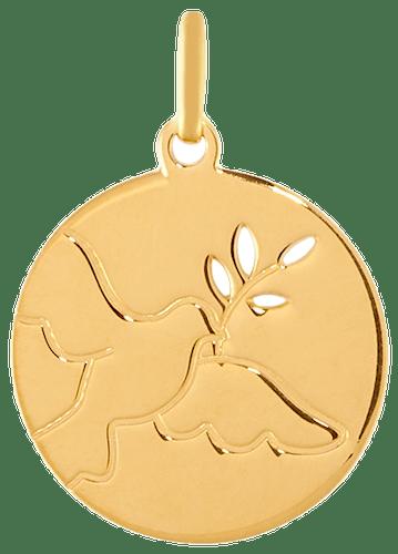 Cette Médaille CLEOR est en Or 375/1000 Jaune