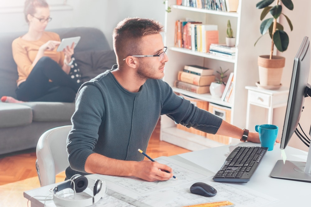 Working from home has become a trend nowadays. Here we will provide you with home office ideas that will make you love to work from the comfort of your home.