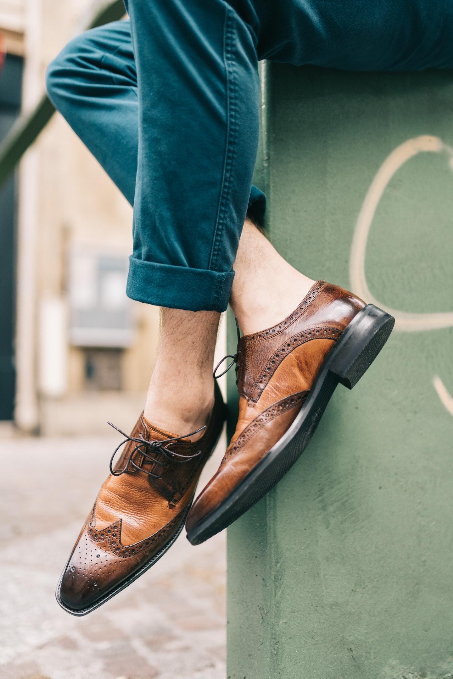 Britisch - inspirierte Schuhe Kollektion Herren