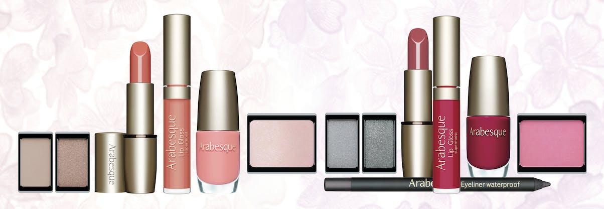 Die Trendfarben Sweetest Taboo von ARABESQUE. Aktuelle Farben für ein bezauberndes Abend Make-up.