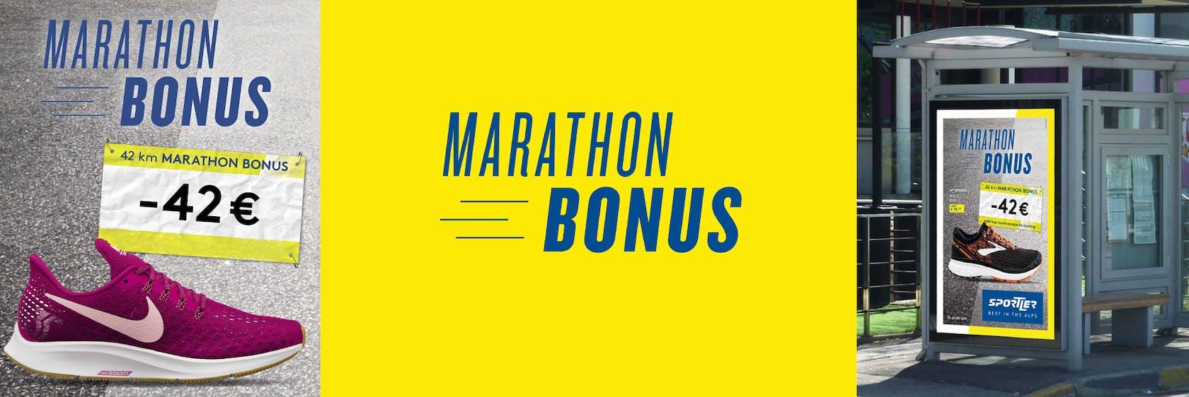 Marathon Bonus -42€ su scarpe da running