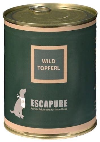 Escapure Nassfutter Wild Topferl (getreidefrei)