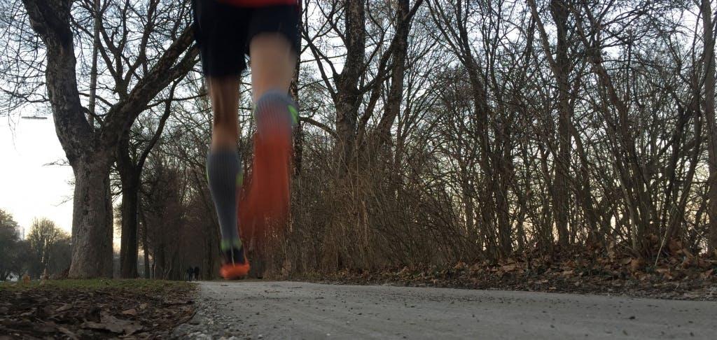 Motivation zum Laufen nach der Arbeit!