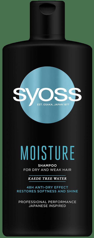 Szampon Syoss Moisture pack shot