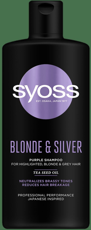 Szampon Syoss Blonde & Silver pack shot