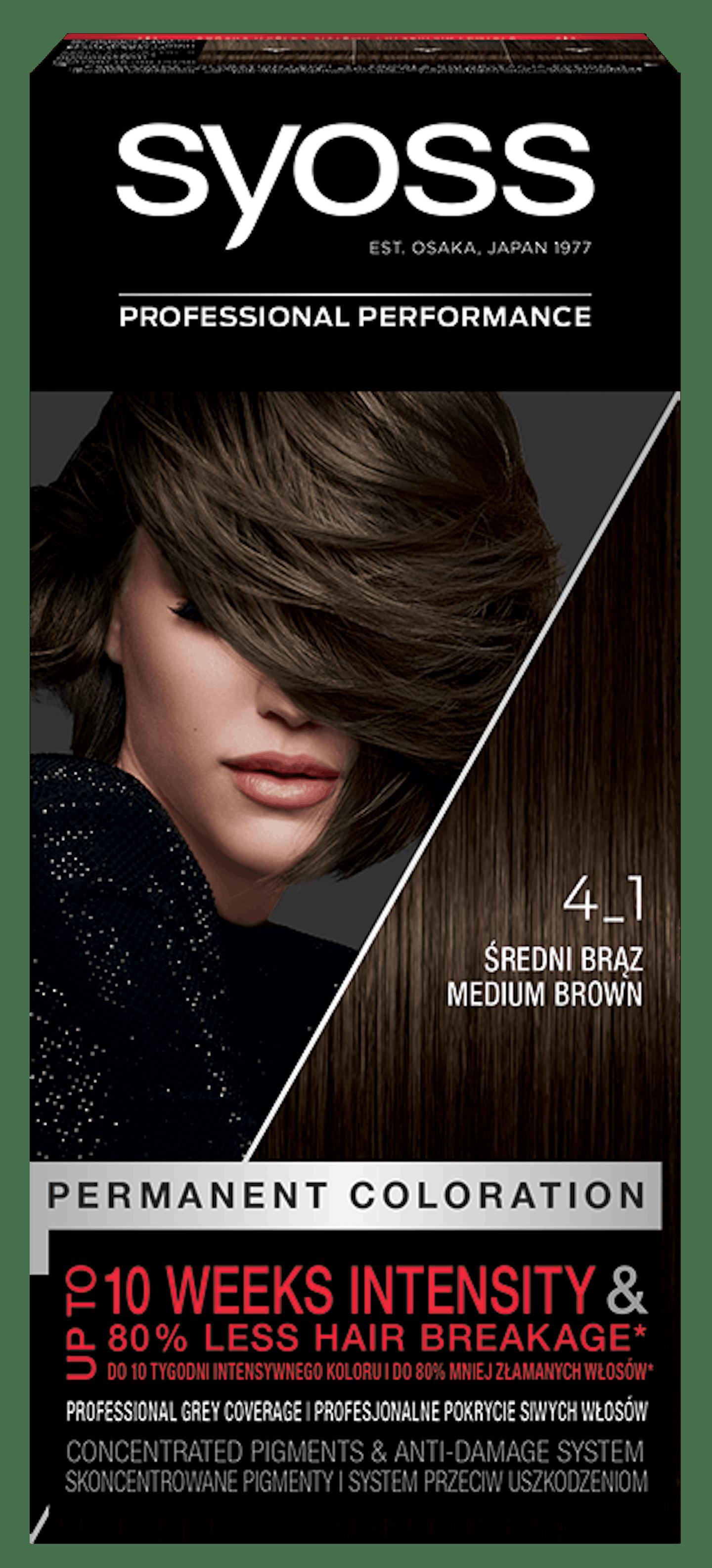 Syoss дълготрайна боя за коса Средно кафяв 4_1