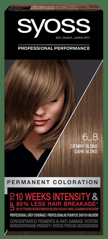 Syoss Trwała Koloryzacja  Ciemny Blond 6_8 pack shot