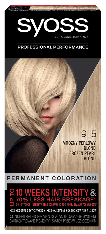 Syoss Trwała Koloryzacja Mrożny Perłowy Blond 9_5 pack shot
