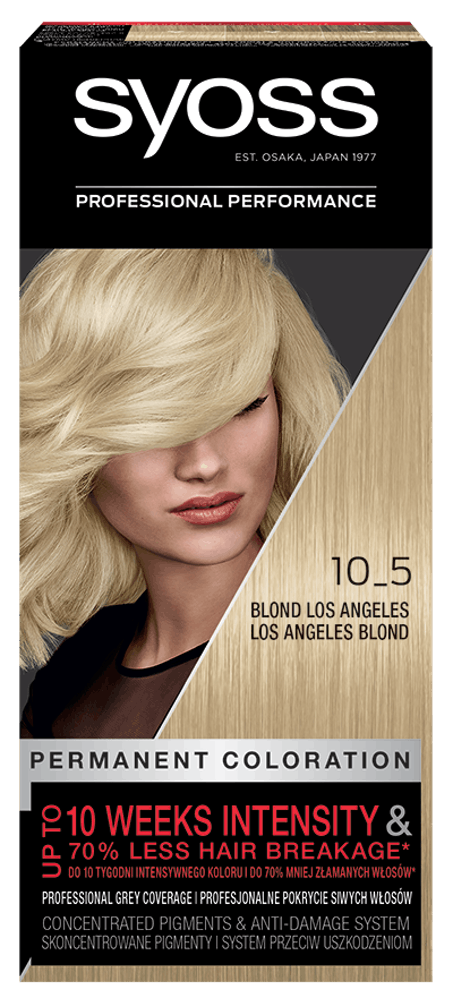Syoss Trwała Koloryzacja Blond Los Angeles 10_5 pack shot