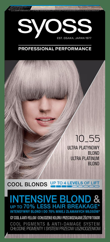 Syoss Trwała Koloryzacja Chłodne Blondy Ultra Platynowy 10_55 pack shot