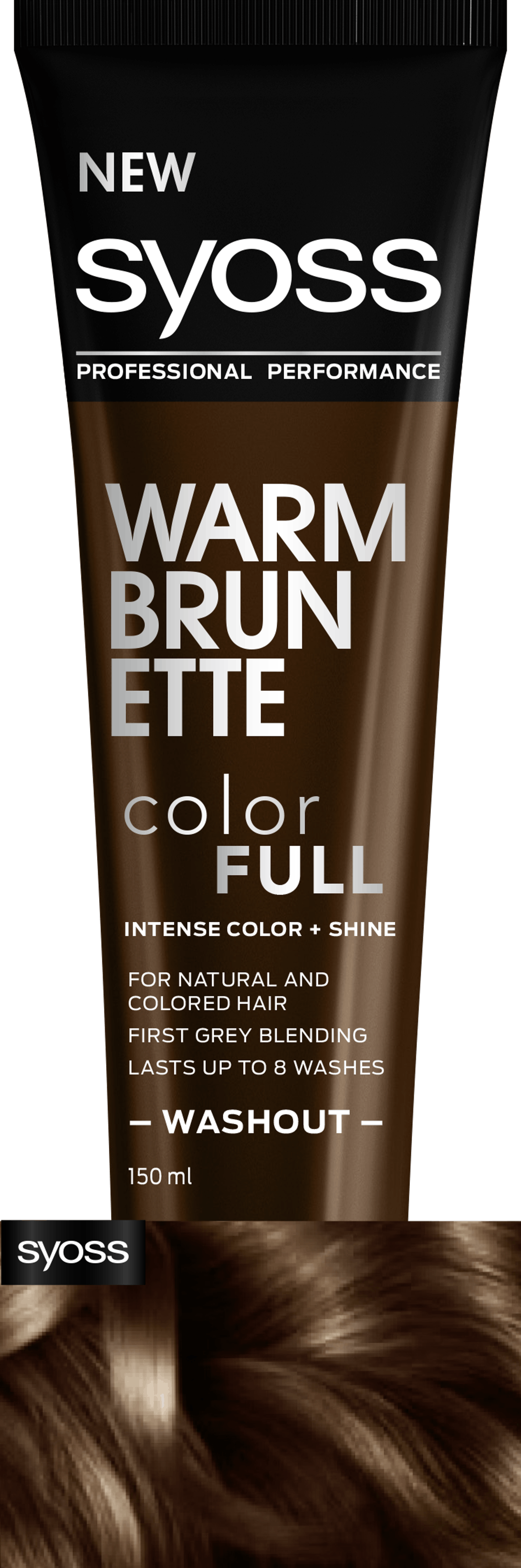 Syoss Warm Brunette Color Full