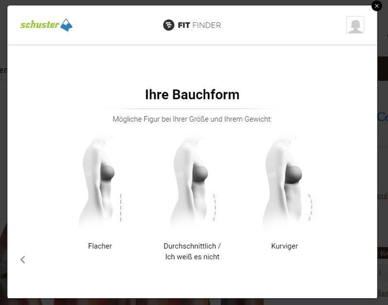 Größenberater-Sport-Schuster