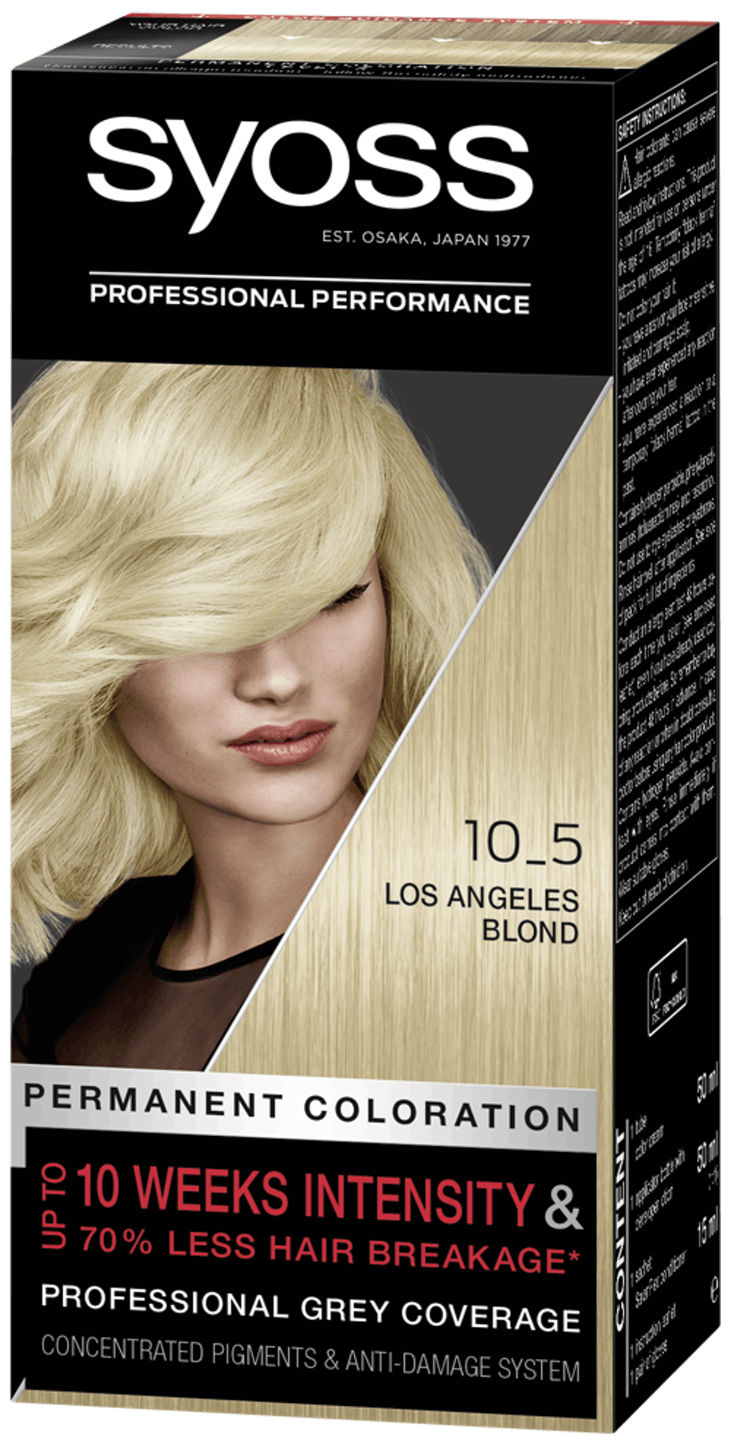 Syoss Professional Performance 10-5 Los Angeles Blond