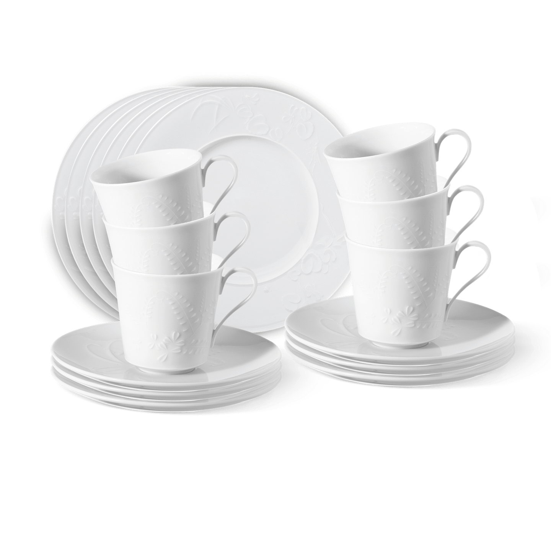 Frühstücks-Set, FELDBLUME, 18-teilig (6 Personen)