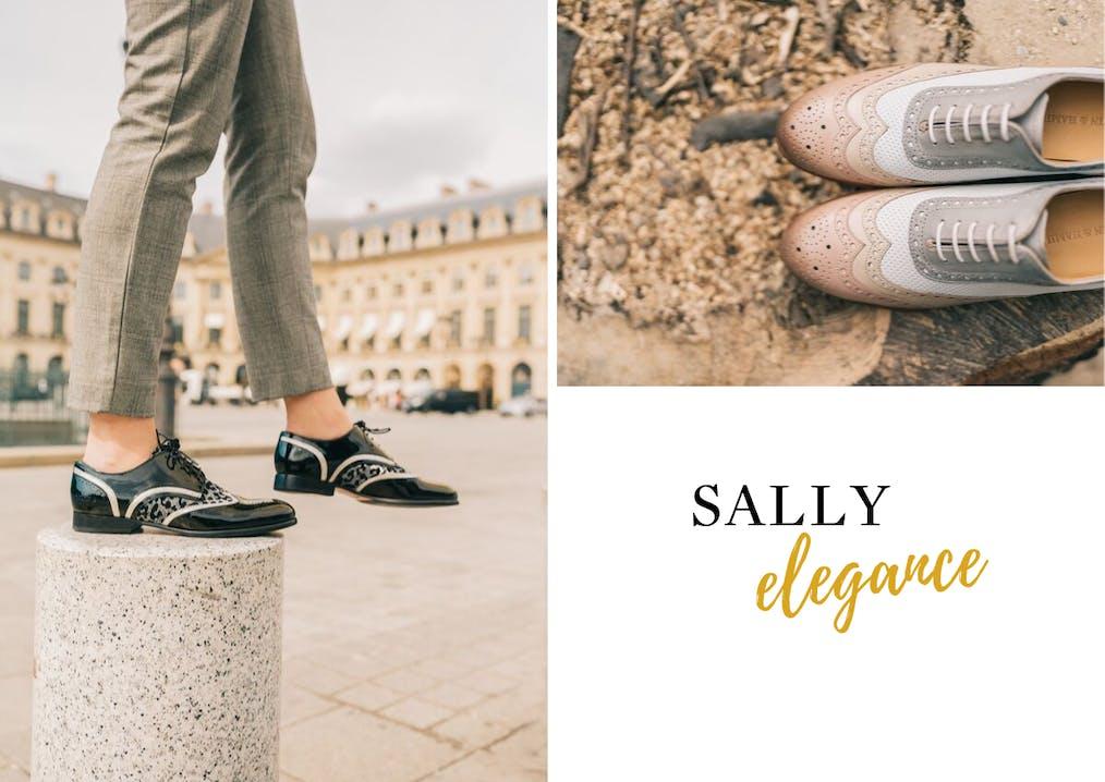 Famille de chaussures Sally Melvin & Hamilton