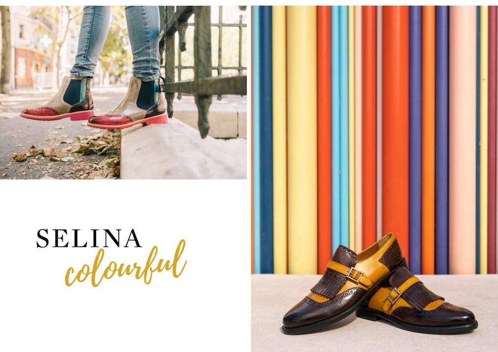 Famille de chaussures Selina Melvin & Hamilton