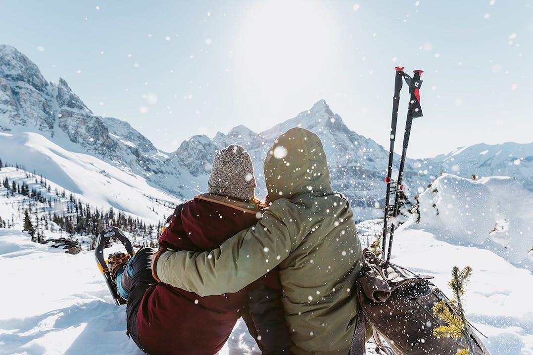 Schneeschuhwandern in Kanada
