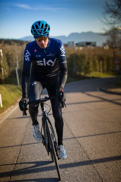 Team Sky abbigliamento bici Castelli