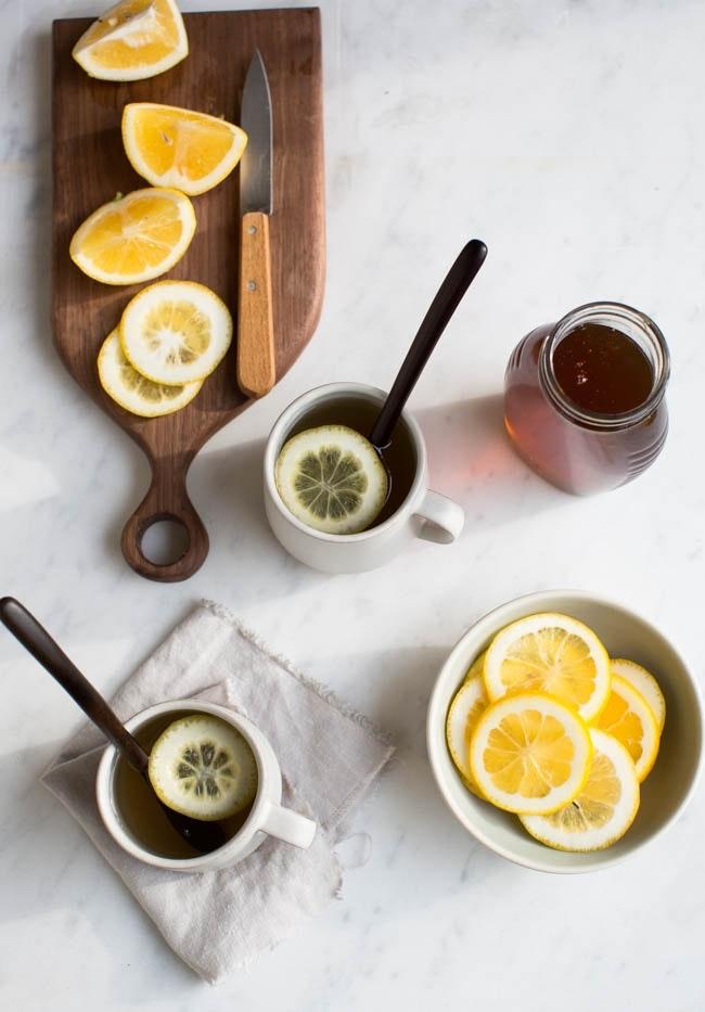 Frischer Ingwer-Tee