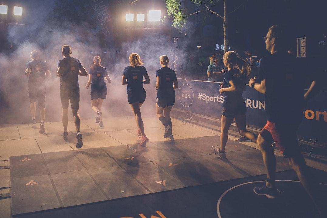 Läufer beim SportScheck RUN Köln