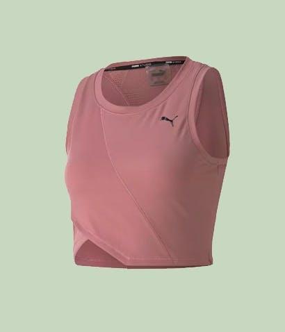 Puma Yoga Crop Top Rosa